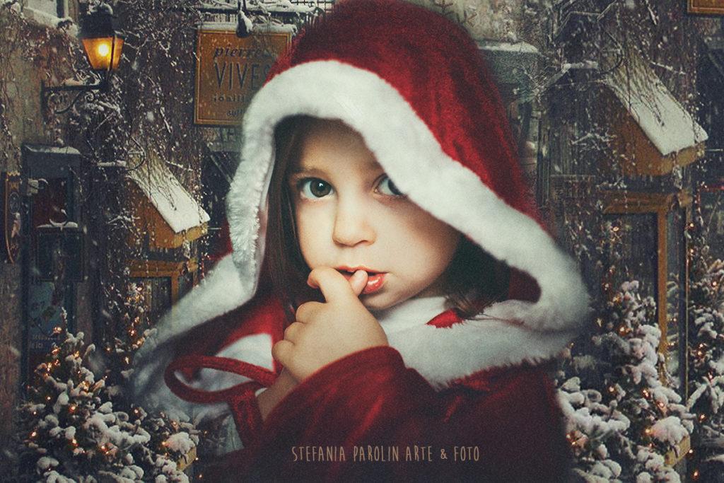 Servizio Fotografico di Natale per Bambini - Padova